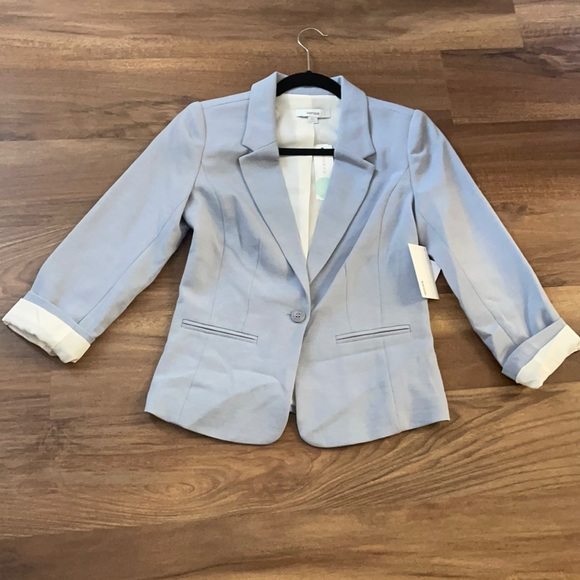 Kensie light blue blazer